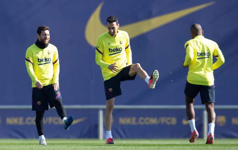 Messi no volverá a entrenar hasta firmar nuevo contrato con el Barça