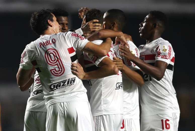 São Paulo pode ser líder pela primeira vez na edição de 2020 do Brasileirão. EFE/Fernando Bizerra