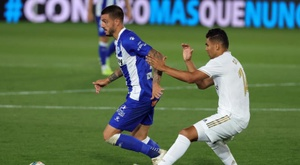 Real Madrid v Alaves live. EFE