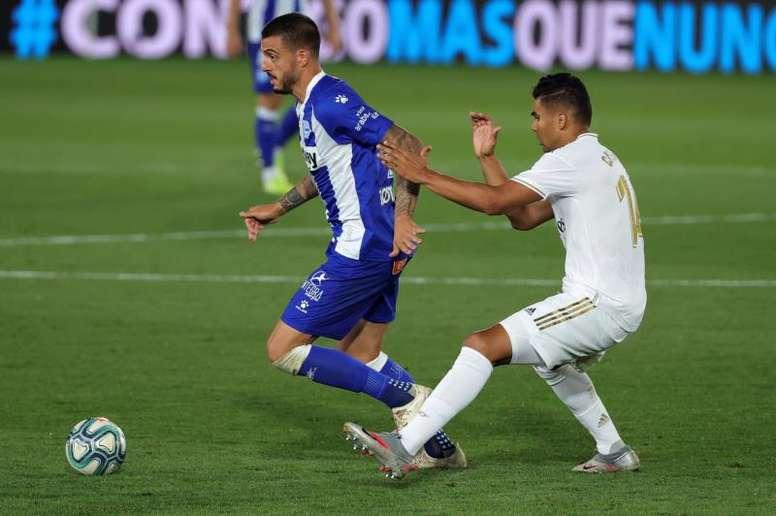 La diretta di Real Madrid-Alaves. EFE
