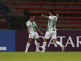 Atlético Nacional recibe a América de Cali. EFE/Luis Eduardo Noriega A