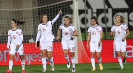 España goleó a Moldavia. EFE