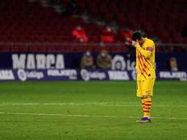 El Barça y la penitencia de la Liga. EFE