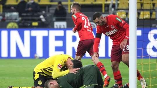 El Köln derrotó al Borussia. EFE