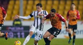 La Juve pareggia contro il Benevento. EFE