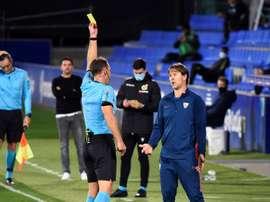 Lopetegui, contento con la victoria. EFE/Javier Blasco