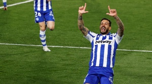 L'Alaves supera il Real Madrid. EFE
