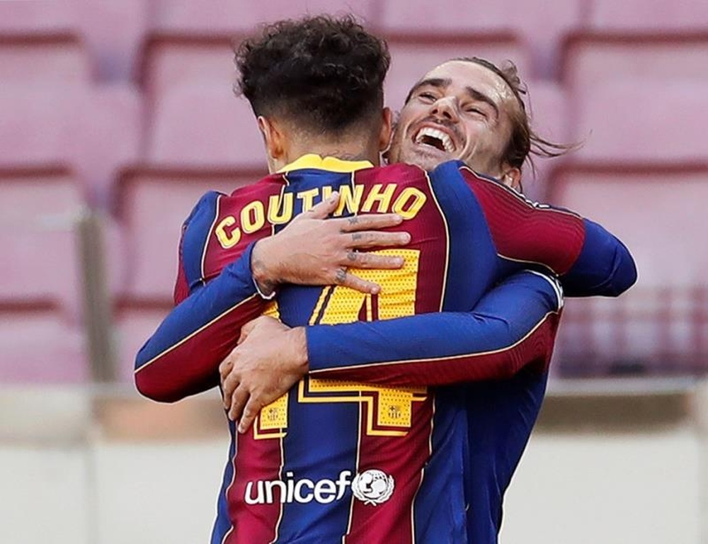 Barca have decided that Griezmann and Coutinho will stay. EFE