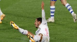 Os relacionados do Real Madrid para a partida contra Shakhtar. EFE