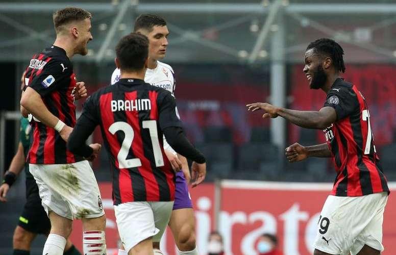 Il Milan continua a vincere. EFE