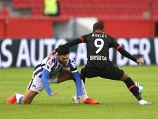 El Bayer Leverkusen perdió la segunda plaza. EFE