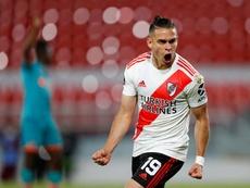 River empató en la ida 1-1 con Athletico Paranaense. EFE