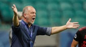 Bahía se jugará la Sudamericana sin entrenador ni cuatro jugadores. EFE/Archivo