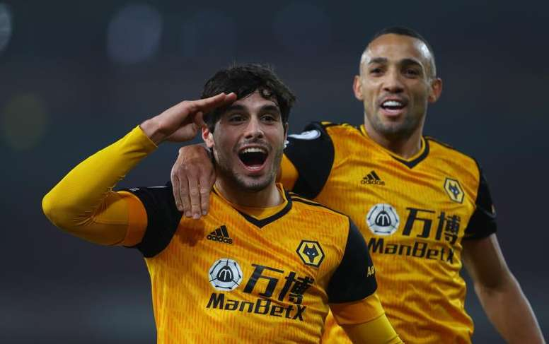 Wolves beat Arsenal 1-2 at the Emirates. EFE