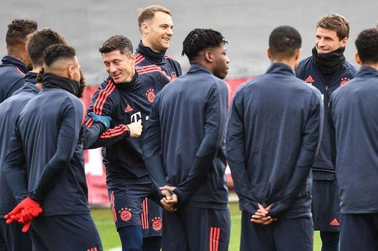 Bayern dará descanso a três de seus maiores craques. EFE/EPA/PHILIPP GUELLAND