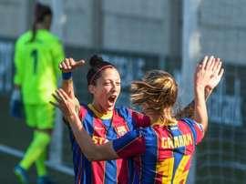 Hermoso sigue siendo la gran goleadora de España. EFE