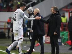 Javi Martínez señaló su acierto por continuar en el Bayern. EFE/EPA/Maxim Shipenkov