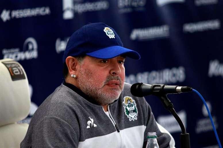 Ana Maradona has come out to deny some reports. EFE
