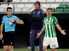 Pellegrini dio la cara tras la derrota. EFE