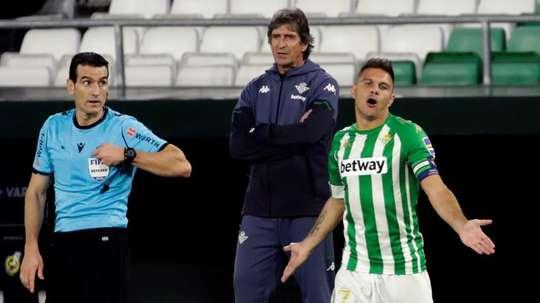 Joaquín loves the Villamarín. EFE