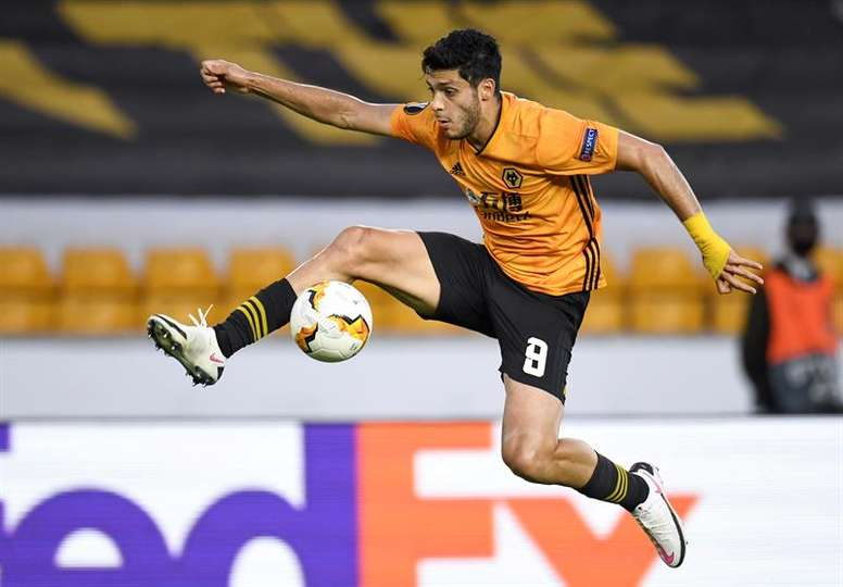 Raul Jimenez could be back within three months. AFP