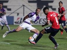 Independiente ganó 1-4 en la ida en la cancha de Fénix. EFE