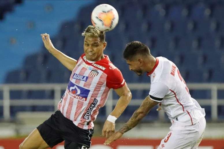 Junior ganó 2-1 en Barranquilla a Unión La Calera. EFE/Archivo