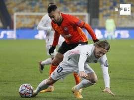 Modric confía en ganar la última jornada. EFE/Sergey Dolzhenko