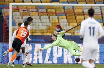 El Shakhtar solo le ha marcado en fase de grupos al Real Madrid. EFE