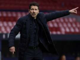 Diego Simeone said that the year has been tough. EFE