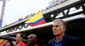 OFICIAL: Carlos Queiroz deja de ser el seleccionador de Colombia. EFE