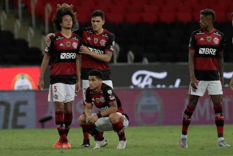 Cisma en el vestuario de Flamengo. EFE