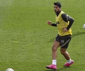 Luis Suarez è risultato negativo. EFE