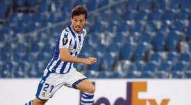 Silva didn't start for Sociedad. EFE