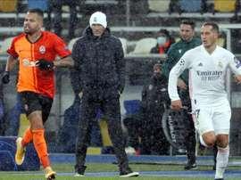 El Real Madrid busca solución a sus problemas. EFE