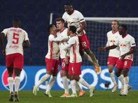 Sorloth mantuvo la presión sobre el PSG. EFE
