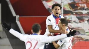 El PSG salva el 'match ball' y pone el grupo al rojo vivo. EFE/Peter Powell