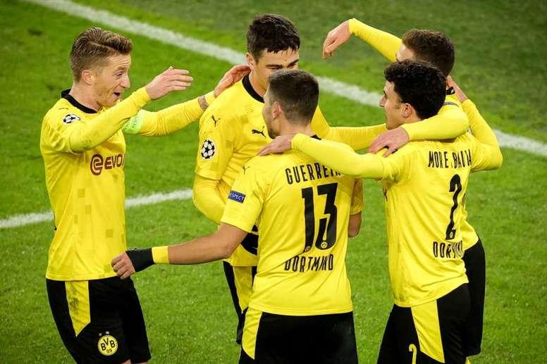 Burki sella el billete del Borussia a octavos. EFE/Friedemann Vogel