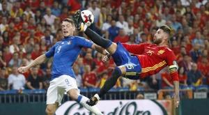Itália e Espanha se enfrentarão em outubro de 2021.  EFE/Juanjo Martín/Arquivo