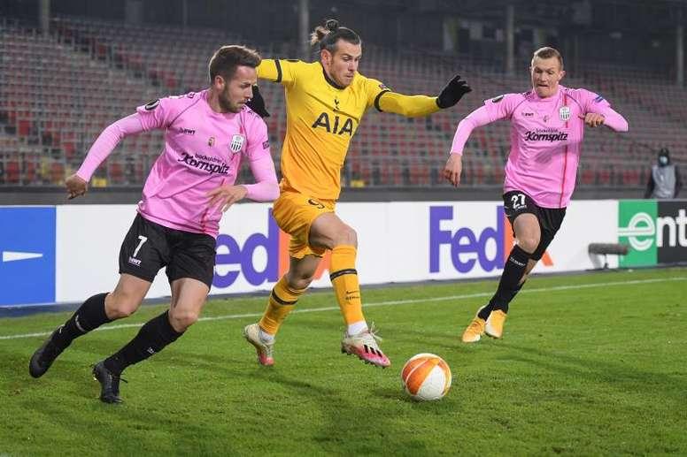 Tottenham é um dos classificados na Europa League. EFE/EPA/CHRISTIAN BRUNA