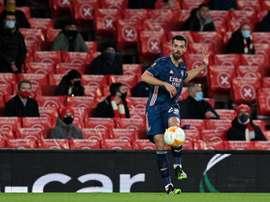 Pablo Marí marcó su primer gol como 'gunner'. EFE