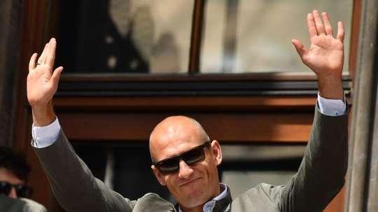 Robben habló sobre su lesión. EFE