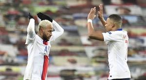 Romero anotó su primer gol en la Champions. EFE/EPA