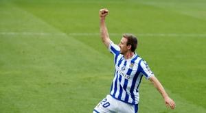 Nacho Monreal forma parte del once de la jornada en la Europa League. EFE/Archivo