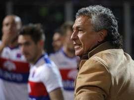 Cerro Porteño se prepara para su duelo. EFE