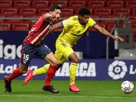 El Choco Lozano, citado a última hora para medirse al Barça. EFE