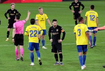 Le Barça tombe à Cadiz !. afp