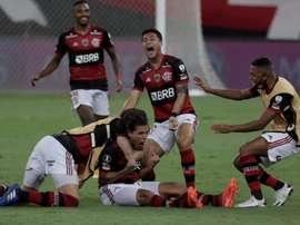 Flamengo se faja y saca los tres puntos ante Botafogo. EFE/Archivo