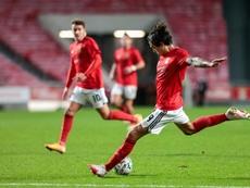 Waldschmidt se viste de héroe y completa la épica del Benfica. EFE/EPA