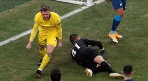 El Borussia se quedó el primer puesto de su grupo. EFE